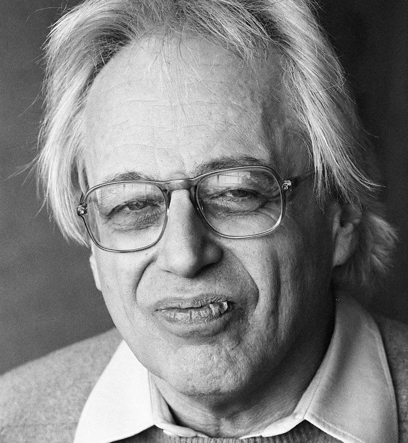 Hungarian-Austrian composer György Ligeti, 1984