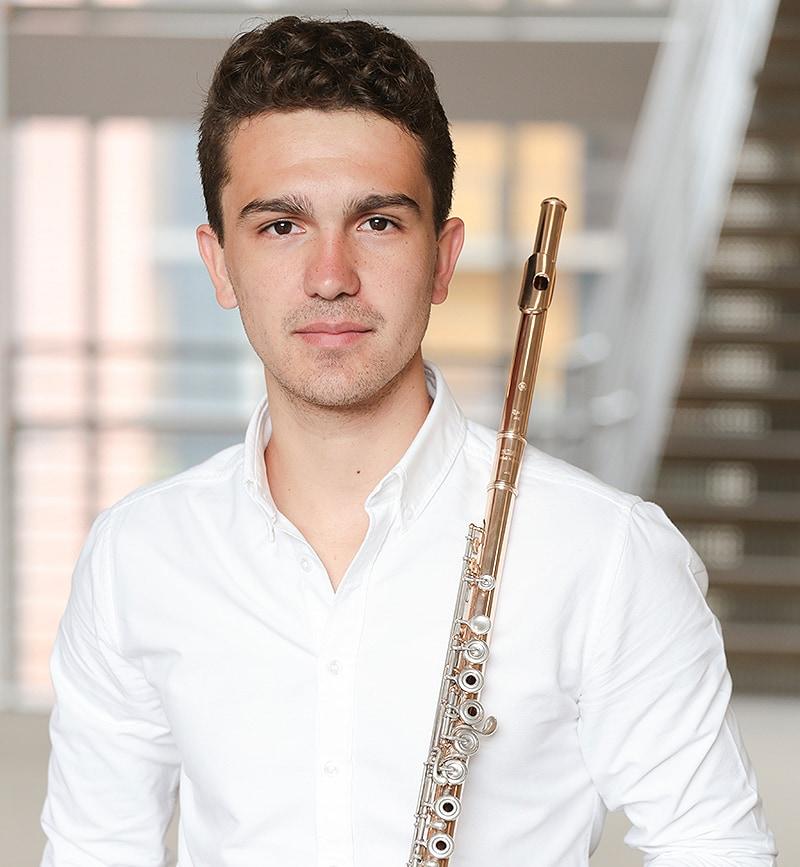 principal flute Joachim Becerra Thomsen