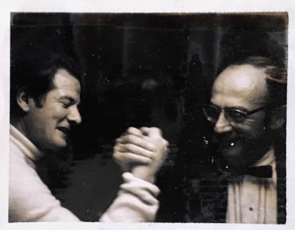 Sir Neville Marriner and James Arkatov
