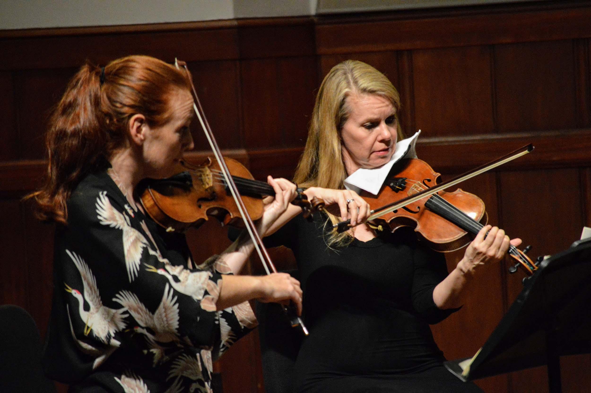 assistant concertmaster Tereza Stanislav