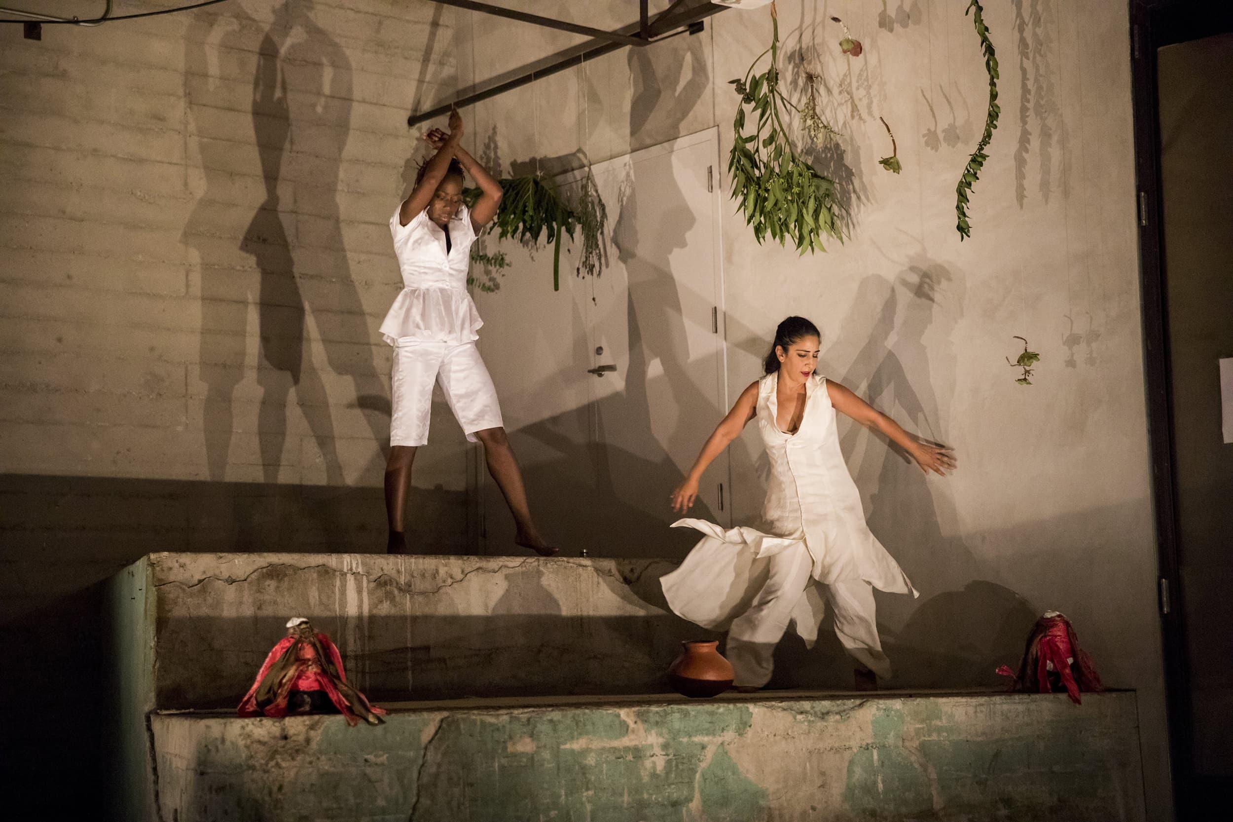 Yeko Ladzekpo-Cole and Sheetal Gandh at Hauser + Wirth