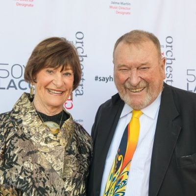 In addition to LACO, Warner and Carol have been leaders at LA Opera, LA Master Chorale, the Colburn School, and most recently Chamber Music LA [Los Angeles Chamber Music Society].